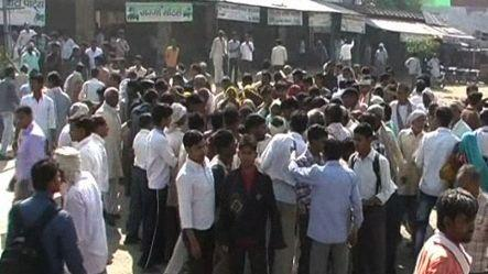 Three dead in a protest outside police station