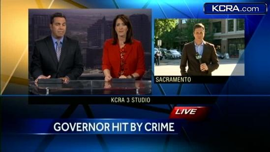 Gov. Brown: Someone tried to break in to my home