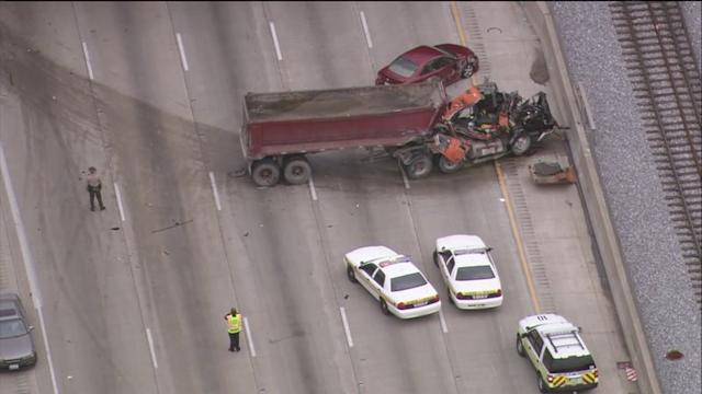 RAW: Aerial footage of fatal crash on I-94