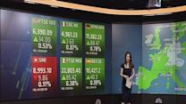 Europe opens higher, buoyed by Asia