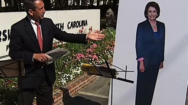 Mark Sanford chides poster of Nancy Pelosi for not answering him
