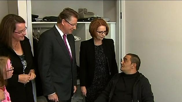 Gillard wins support over NDIS