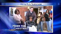 Hit-and-run victim home for the holidays