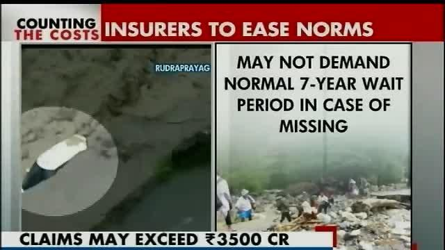 Uttarakhand floods: Insurance companies asked to ease up on norms