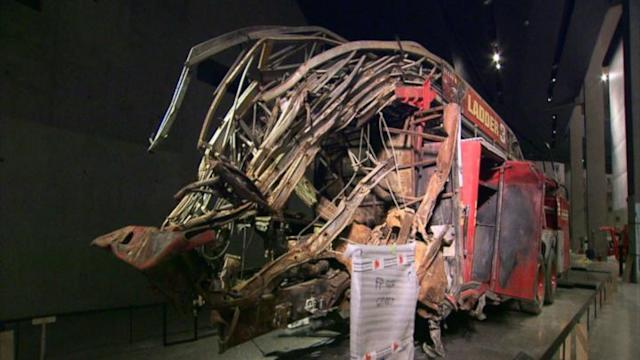 Inside look at the 9/11 museum