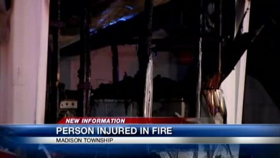 Madison Township mobile home fire