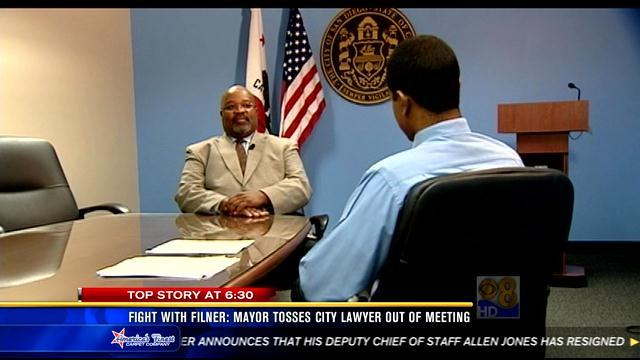 City lawyer talks to News 8 about dispute with Filner