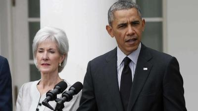 Obama: Sebelius Led HHS in Historic Times