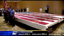 National 9-11 Flag is in San Diego