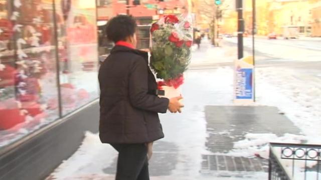 Florists scramble to make deliveries to Valentine's Day lovebirds