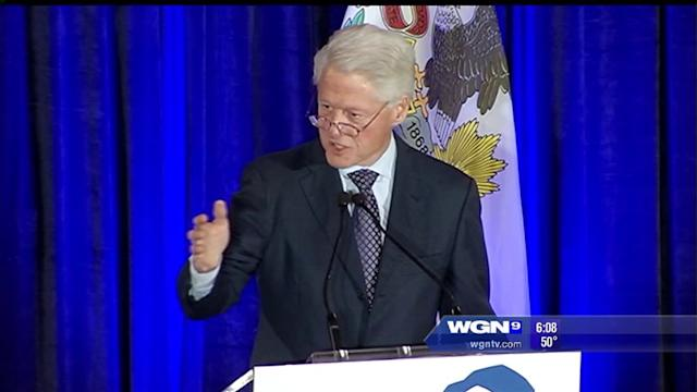Bill Clinton recipient of Lincoln Leadership prize