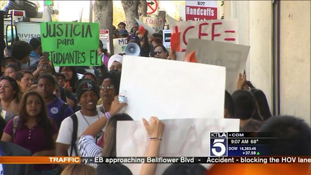 Rally Held to Demand Fair Funding in LAUSD