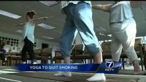 Study uses yoga to quit smoking