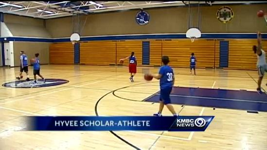 Sumner Academy teen wins scholar-athlete honor