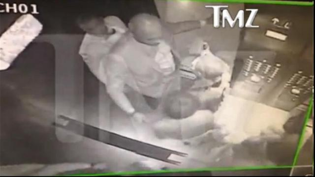 Jay Z, Sister-In-Law Fight Caught on Elevator Security Cam