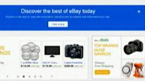 EBay Shares Up Nearly 5 Percent
