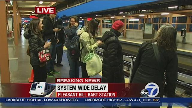 Major BART delays system-wide due to equipment problem