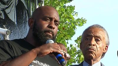 Michael Brown's Father Calls for Calm, Peace