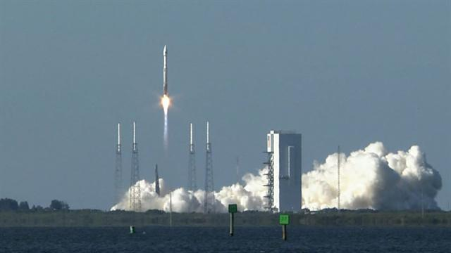 Watch: Air Force launches new GPS navigation satellite