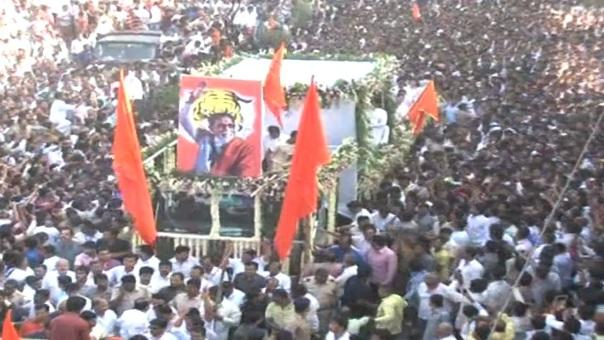 Balasaheb cremated with full state honours