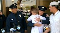 Teen Meets Heroes Who Saved His Life 3 Years Ago