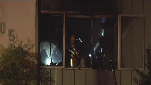 Local home damaged by flames