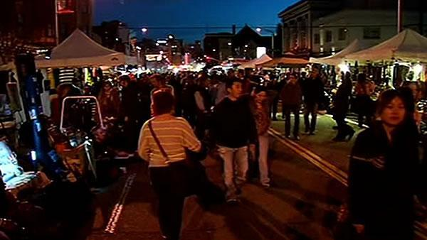 Oakland's First Friday event kept peaceful