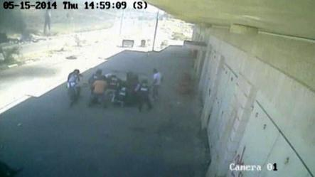 Rights group releases video of Palestinian deaths