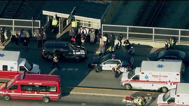 33 injured in CTA Blue Line train collision