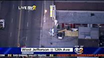 Vehicle Careens Into Building In Crenshaw District