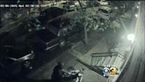 Scooter Theft Caught On Surveillance Video