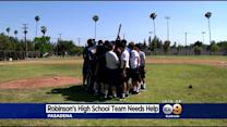 Jackie Robinson's High School Baseball Team Says They Have No Field Of Dreams