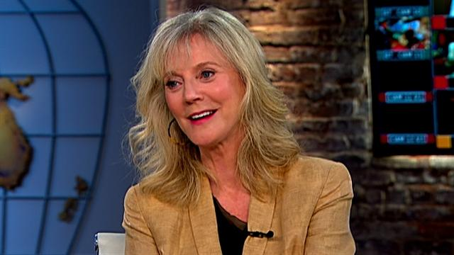 Blythe Danner on mom roles, cancer charity
