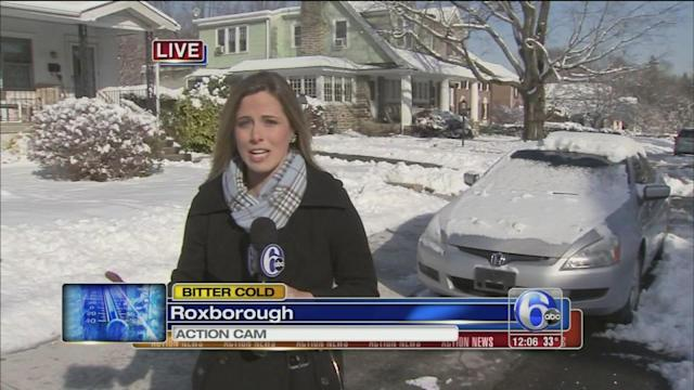 Katherine Scott reports on bitter cold weather