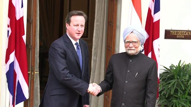 Singh voices 'concern' to Cameron over graft claims