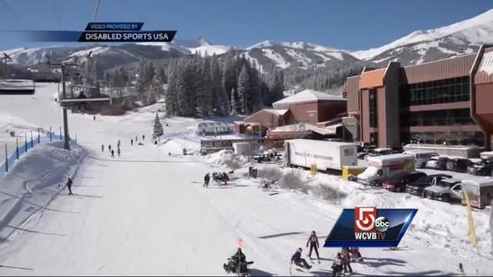 Bombing survivor who lost leg hits slopes