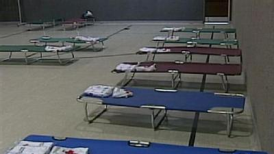 Red Cross Shelters Serve Powerless