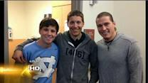 Teen's life changed by bone marrow transplant
