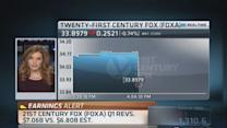 21st Century Fox reports Q1 earnings