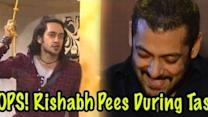 EWW! Rishabh pees in pants