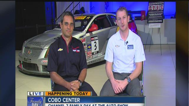 IndyCar drivers Juan Pablo Montoya and Charlie Kimball talk about the Grand Prix