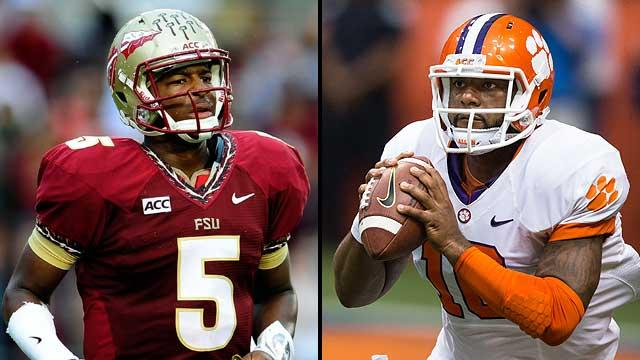 Jameis Winston, Tajh Boyd keys to FSU-Clemson battle