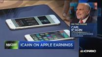 Carl Icahn: Very pleased with Apple