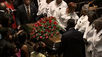 Day of Mourning: Thousands Attend Funeral of Michael Brown