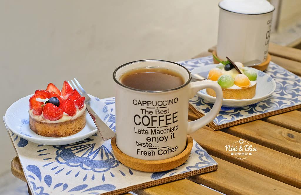 台中一中街 甜點 咖啡 可可庫奇12