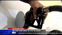 We're now paying highest gas tax in the country