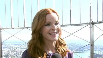 Marcia Cross Turns The Empire State Building Pink To Raise Awareness For Women