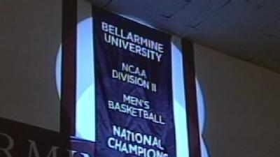 Fans Pack Knights Hall To Celebrate Bellarmine's National Title