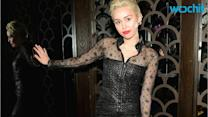 Miley Cyrus Makes a Necklace Using Her Tooth and Poses Topless on Instagram