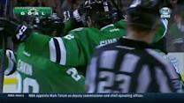 Tyler Seguin ties it with under a minute left